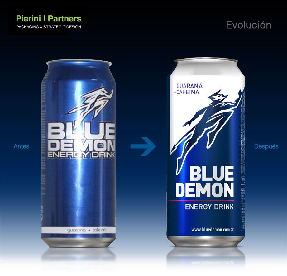 Nueva imagen y packaging de Blue Demon « J2 Diseño