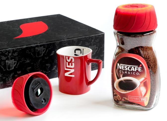 Nescafé Tapa Despertador. La primera tapa multifuncional del mercado