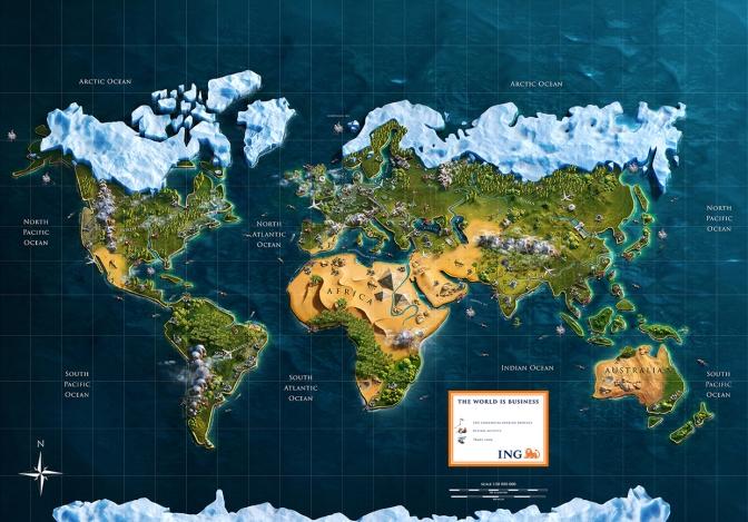 Galería: El mundo de negocios en 3D