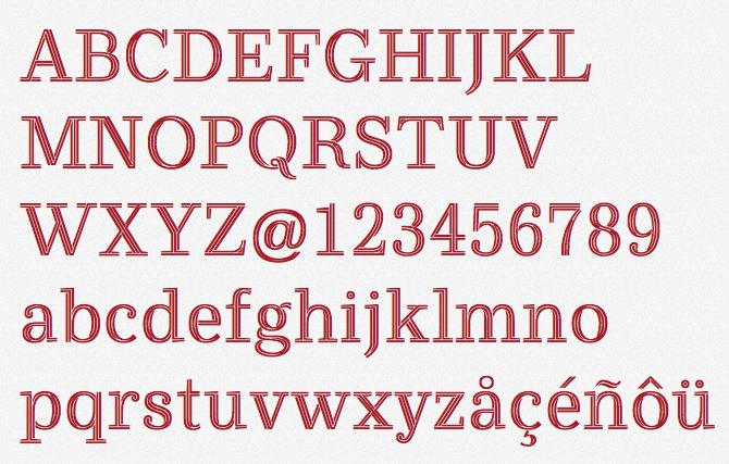 Gratis tipografía sostenible para ahorrar dinero en tinta