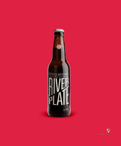 cerveza river plate futbol