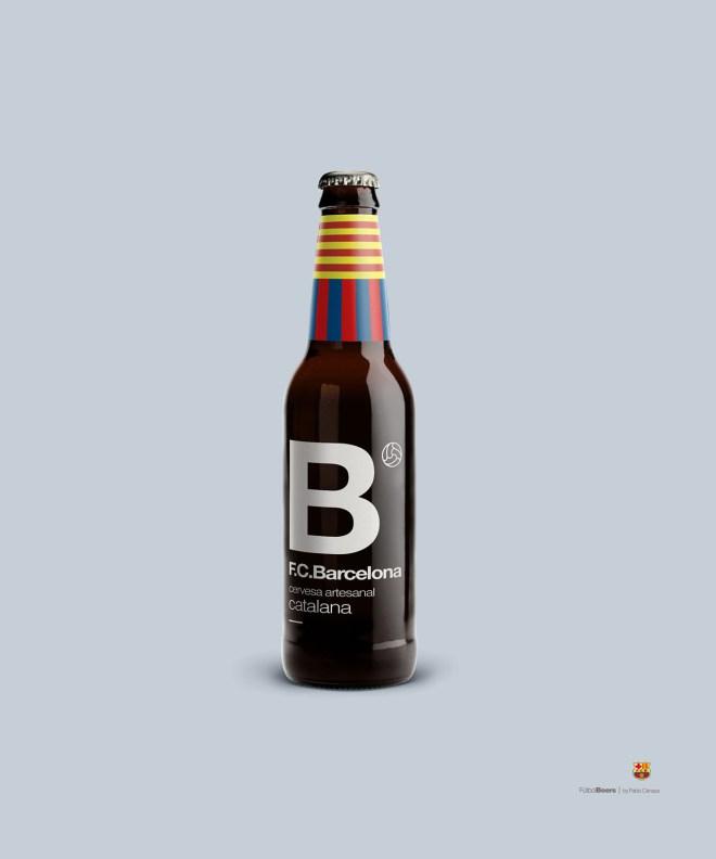 Cerveza barcelona fútbol