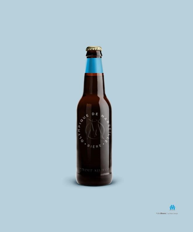 Cerveza Olympique de marselle